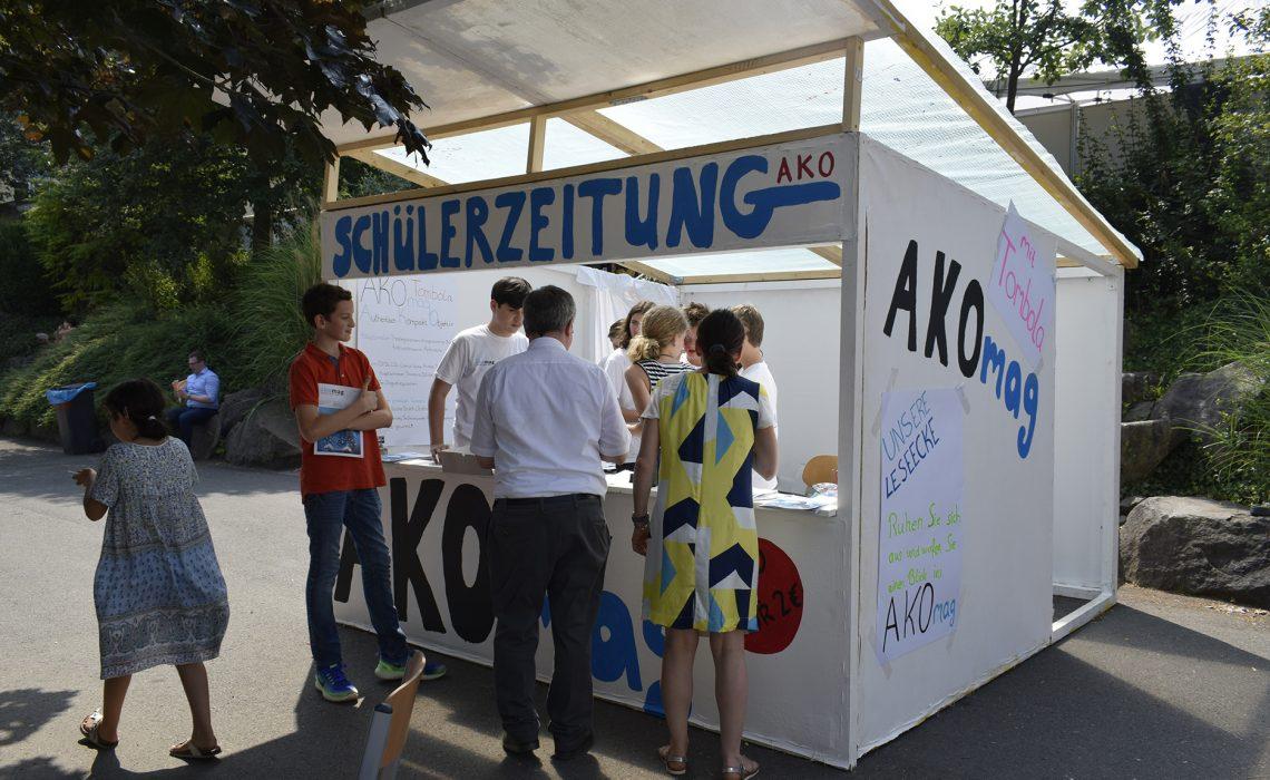 Premiere von akomag auf dem AKO-Sommerfest