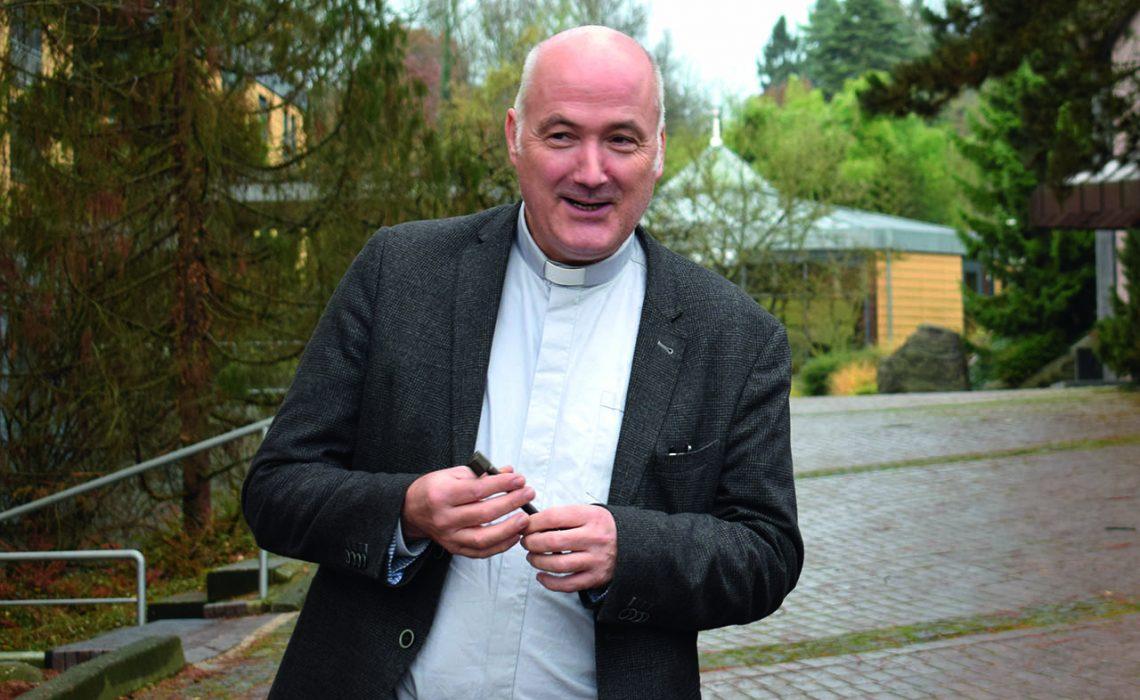 Unser neuer Pater Rektor Löwenstein SJ