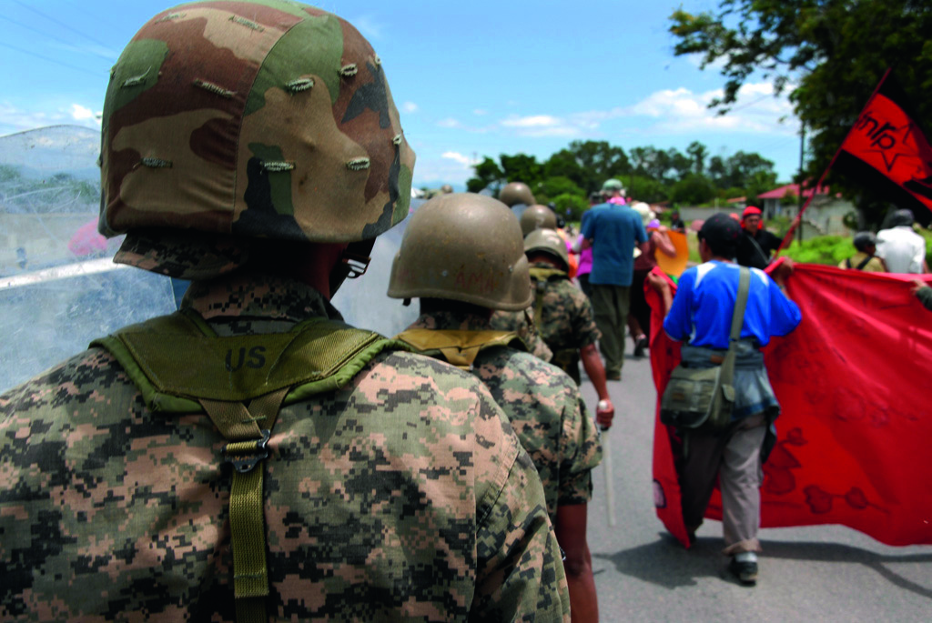 Honduras: Gespräch mit dem Menschenrechtler Dennis Muños
