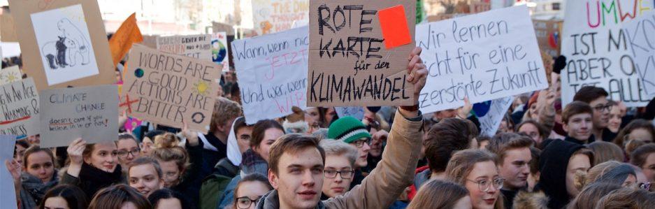 Wir waren auf der Schülerdemo für Klimagerechtigkeit