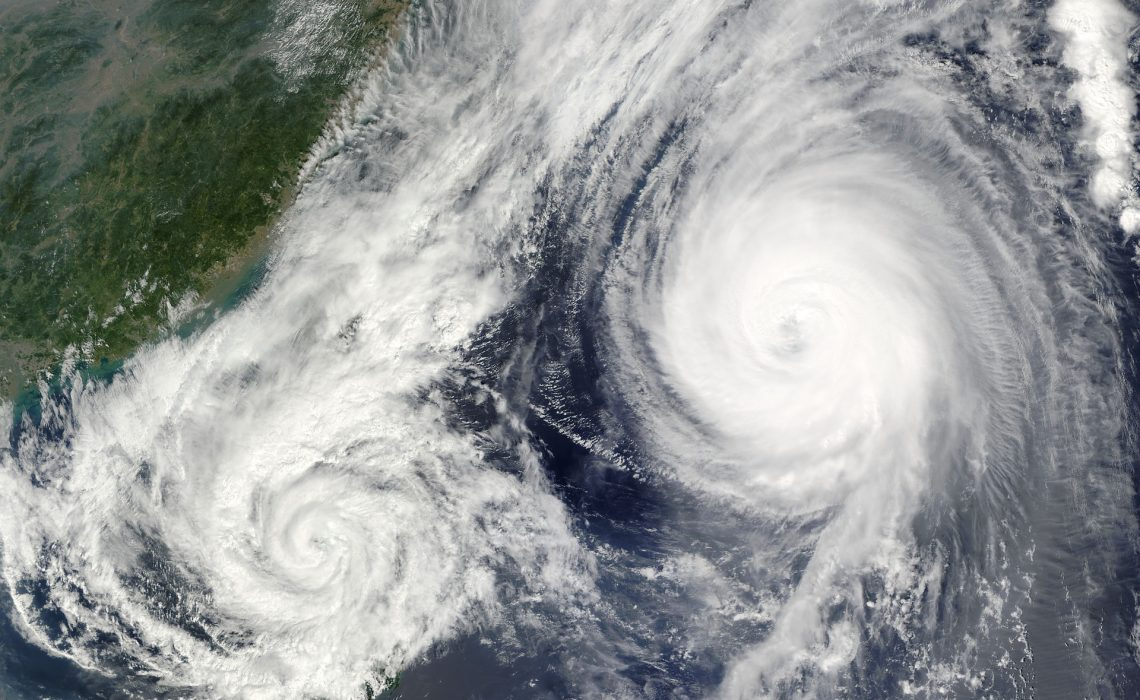 Phänomen Taifun – Was den Wirbelsturm ausmacht und wie man sich schützt
